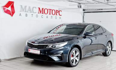 Kia Optima NEW Черный